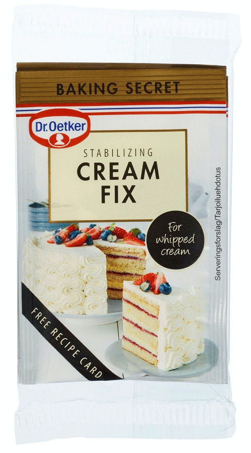 Dr. Oetker Cream Fix 3 x 10g, 30 g