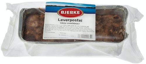 Bjerke Spekemat Grov Ovnsbakt Leverpostei 400 g