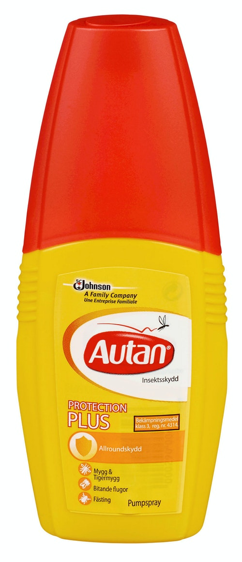 Autan Protect Plus Myggspray Pumpespray, 100 ml