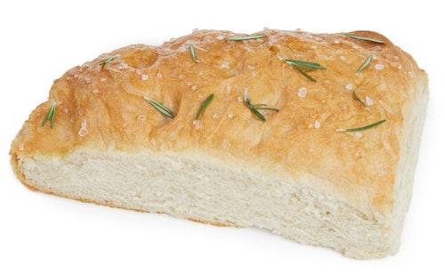 Brødverket Focaccia Med flaksalt og Rosmarin 500 g