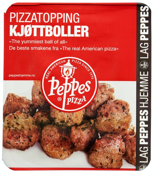 Peppes Pizza Peppes Originale Kjøttboller 120 g