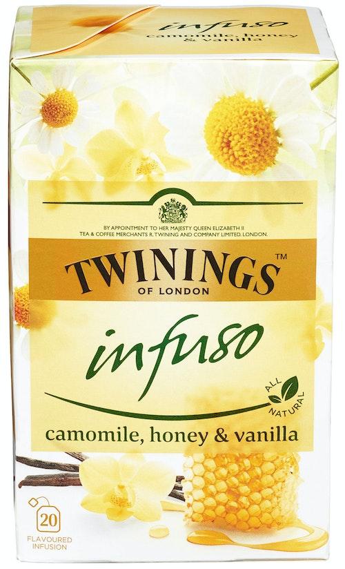 Twinings Kamille, Honning & Vanilje-te Infuso, 20 stk