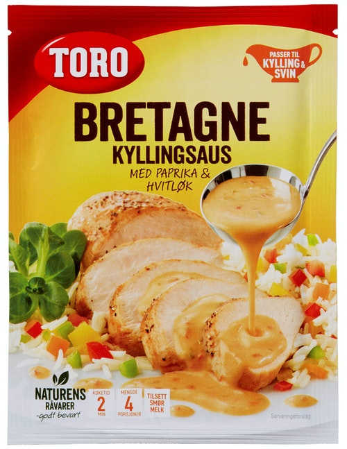 Toro Bretagne kyllingsaus 27 g