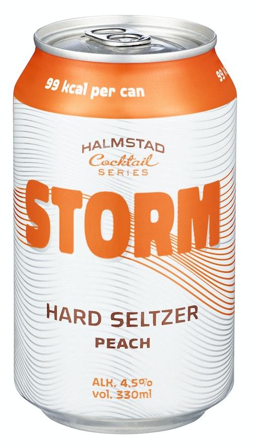 Storm Hard Seltzer White Peach, 0,33 l