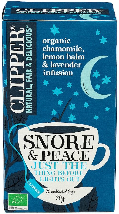 Clipper Te Snore & Peace 20 stk
