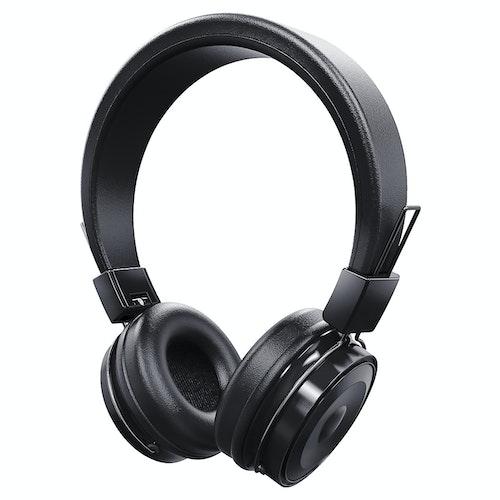 EXIBEL Trådløst headset med mikrofon Svart, 1 stk