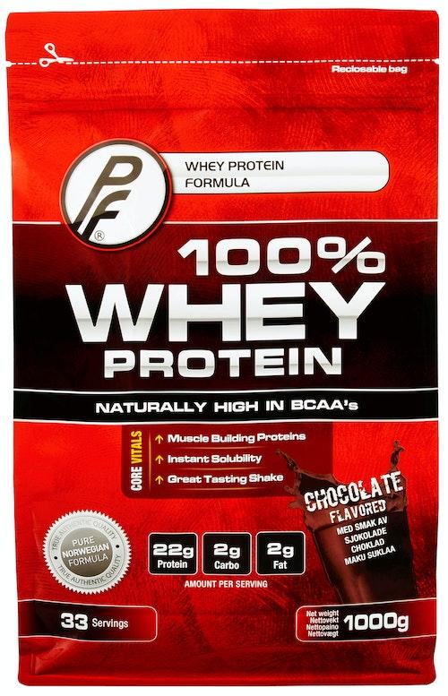 Proteinfabrikken 100% Whey Protein Sjokolade 1 kg