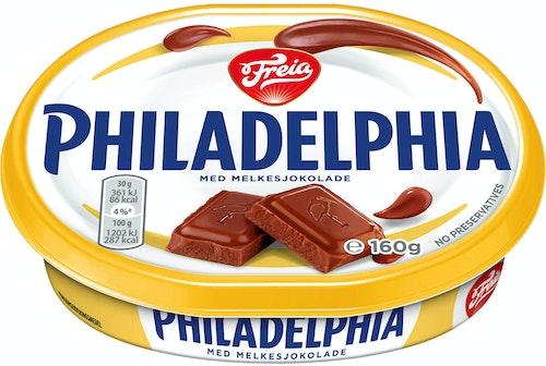 Philadelphia Philadelphia med Melkesjokolade 160 g