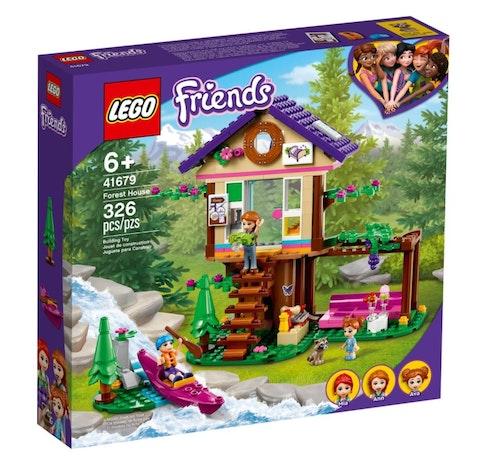 LEGO LEGO Friends - Hus i skogen 1 stk