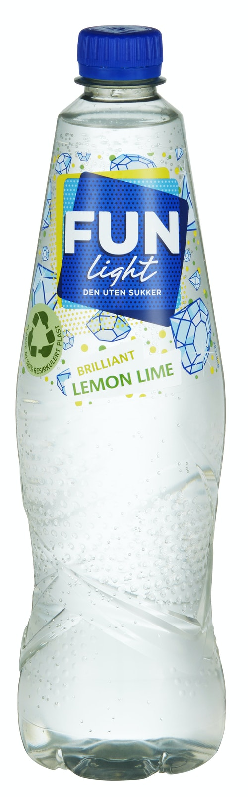Fun Light Lemon Lime 0,8 l