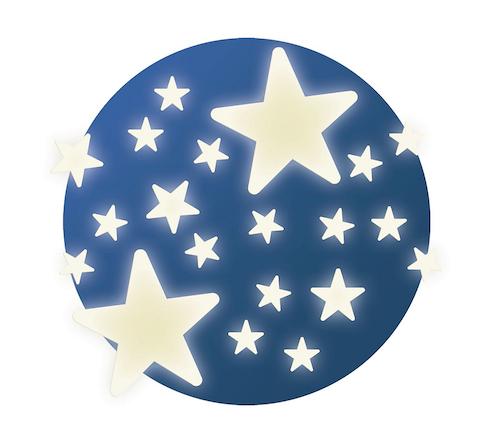 Selvlysende stjerner 1 stk