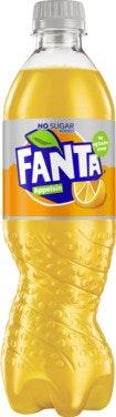 Fanta Fanta Orange Uten Sukker 0,5 l