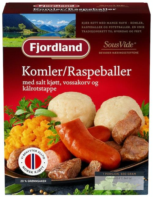 Fjordland Komler / Raspeballer / Komper 600 g