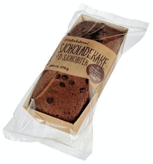 Mesterbakeren Sjokoladekake Med Sjokobiter, 270 g