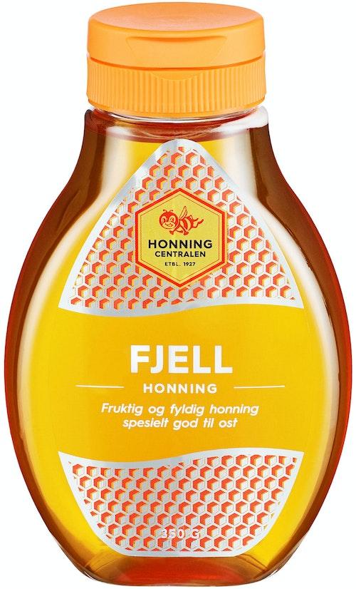 Honningcentralen Fjellhonning Flytende, 350 g