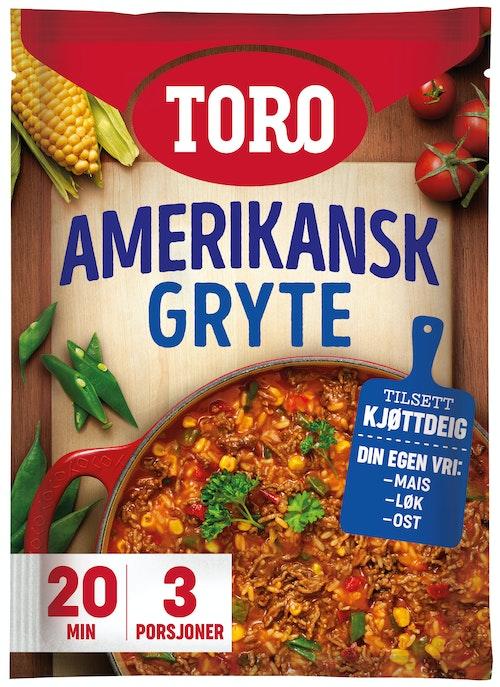 Toro Amerikansk Gryte 187 g