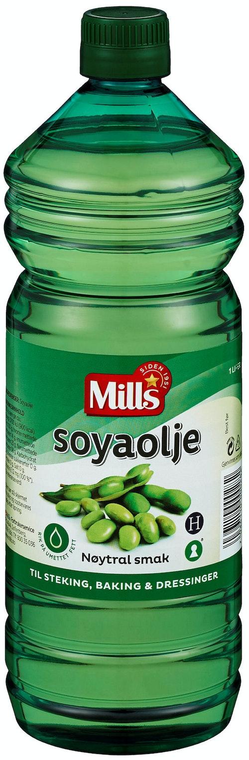 Mills Soyaolje 1 l