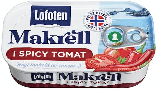 Lofoten Makrell i Tomat Spicy 110 g