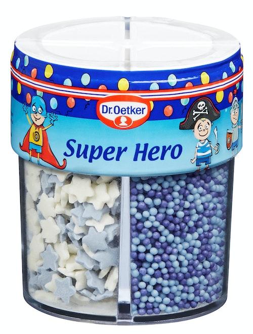 Dr. Oetker Kakepynt Super Hero 4 kammer, 76 g