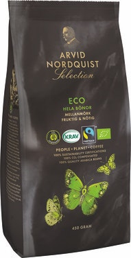 Arvid Nordquist Selection ECO hele bønner 450 g