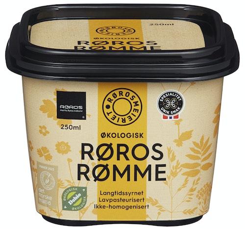 Rørosmeieriet Røros Rømme Økologisk, 250 g