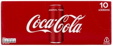 Coca-Cola Coca-Cola 10 x 0,33l, 3,3 l