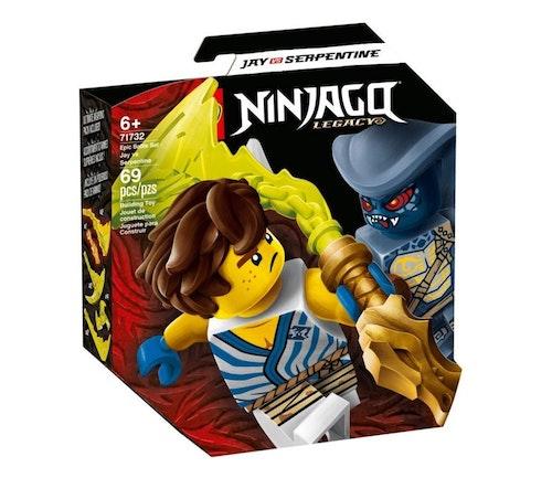 LEGO LEGO Ninjago Jay mot serpentiner 1 stk