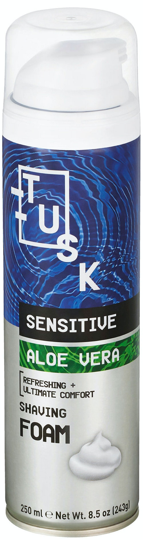 Tusk Barberskum Sensitive 250 ml