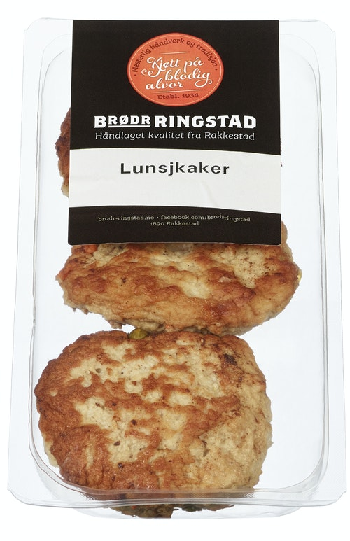 Brødr Ringstad Lunsjkaker 3 stk