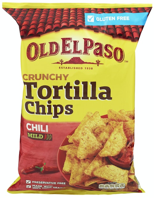 Old El Paso Tortilla Chips Chili 185 g
