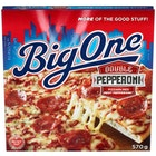 Big One Double Pepperoni Pizza