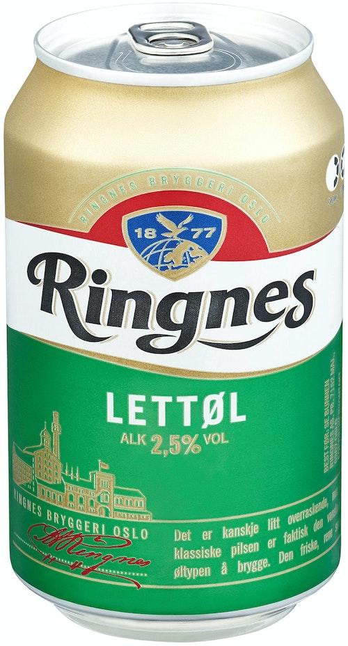 Ringnes Ringnes Lettøl 0,33 l