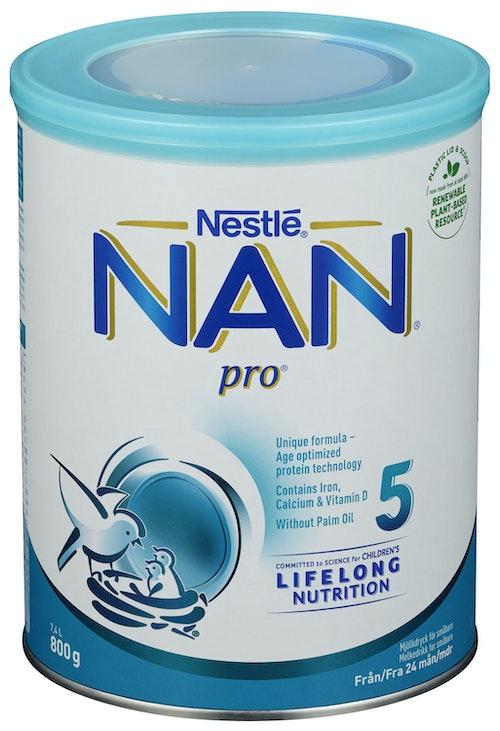 Nestlé Nan Pro 5 fra 24 mnd, 800 g