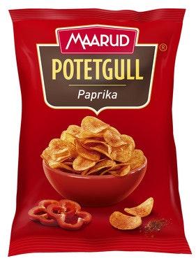 Maarud Potetgull Paprika 260 g