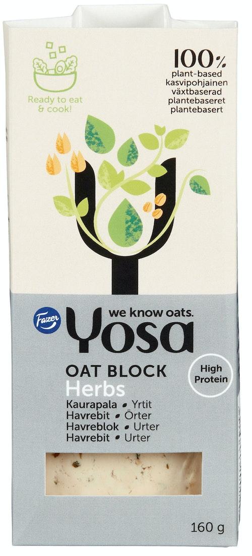 Yosa Havrebit Urter Proteinrikt Havrebasert Matlagingsprodukt, 160 g