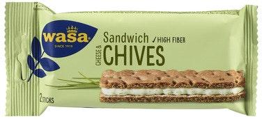 Wasa Sandwich Cream Cheese & Gressløk 37 g