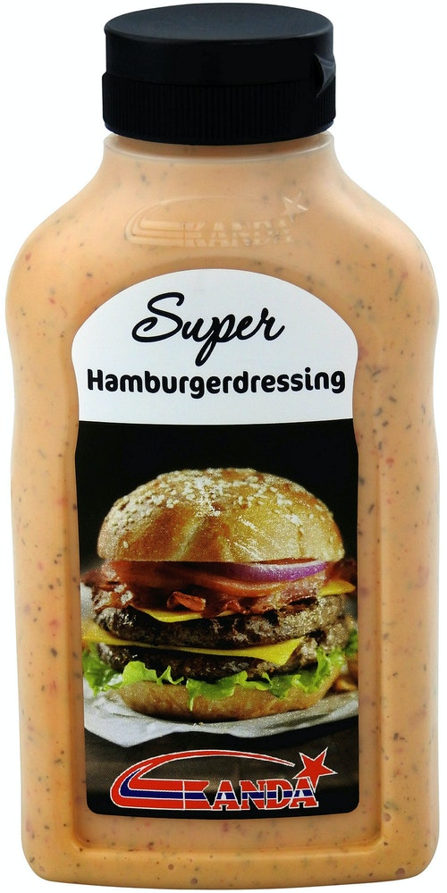 Kanda Hamburgerdressing 300 g