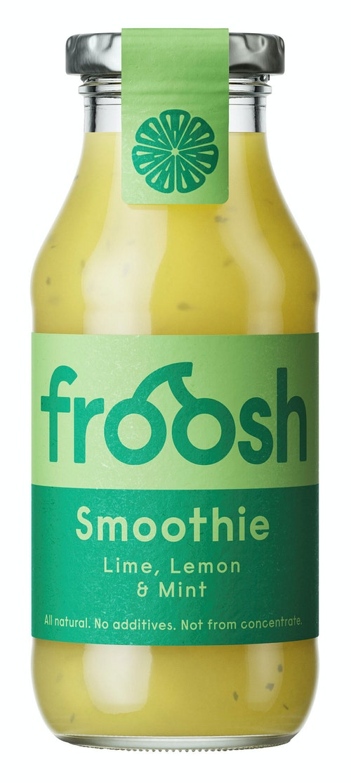 Froosh Smoothie Sitron, Lime & Mynte 250 ml