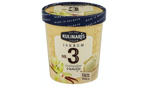 Vanilje-Iskrem