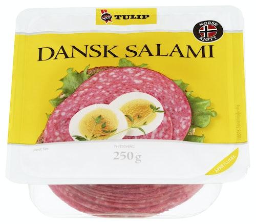 Tulip Dansk Salami Skivet 250 g