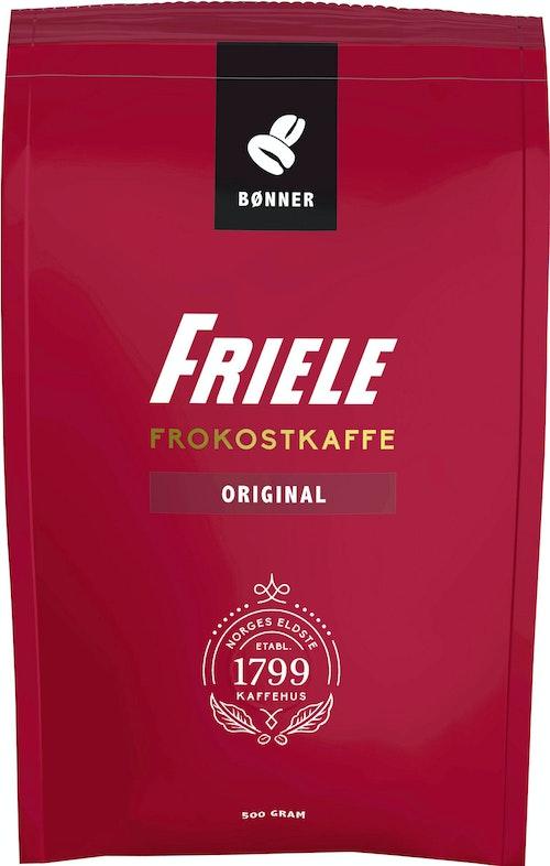 Friele Frokostkaffe Hele bønner, 500 g