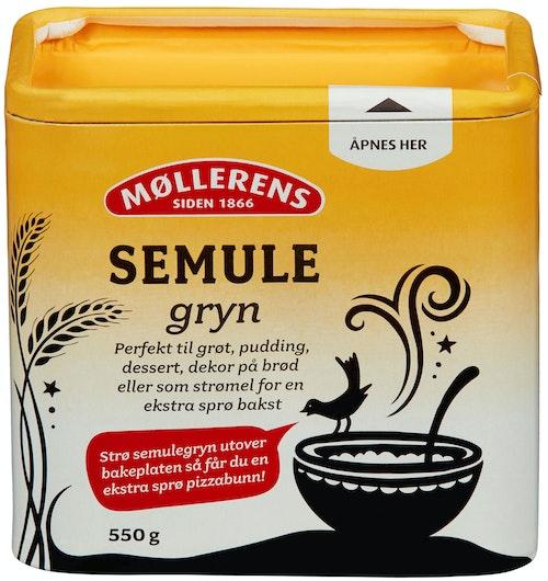 Møllerens Semulegryn 550 g
