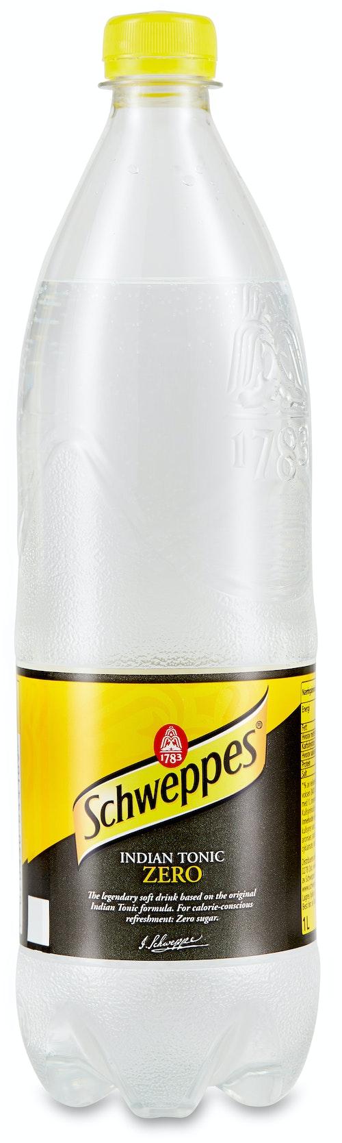 Schweppes Tonic Zero 1 l