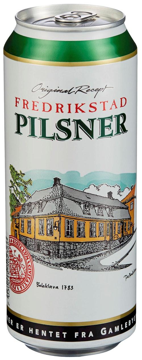 Hansa Borg Fredrikstad Pilsner 0,5 l