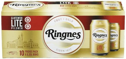 Ringnes Ringnes Lite 10 x 0,33l, 3,3 l