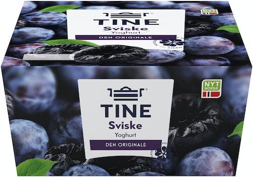 Tine Yoghurt Sviske  4x150g, 600 g