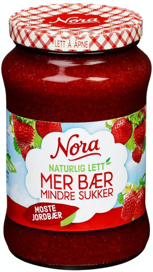 Nora Moste Jordbær Lett 530 g