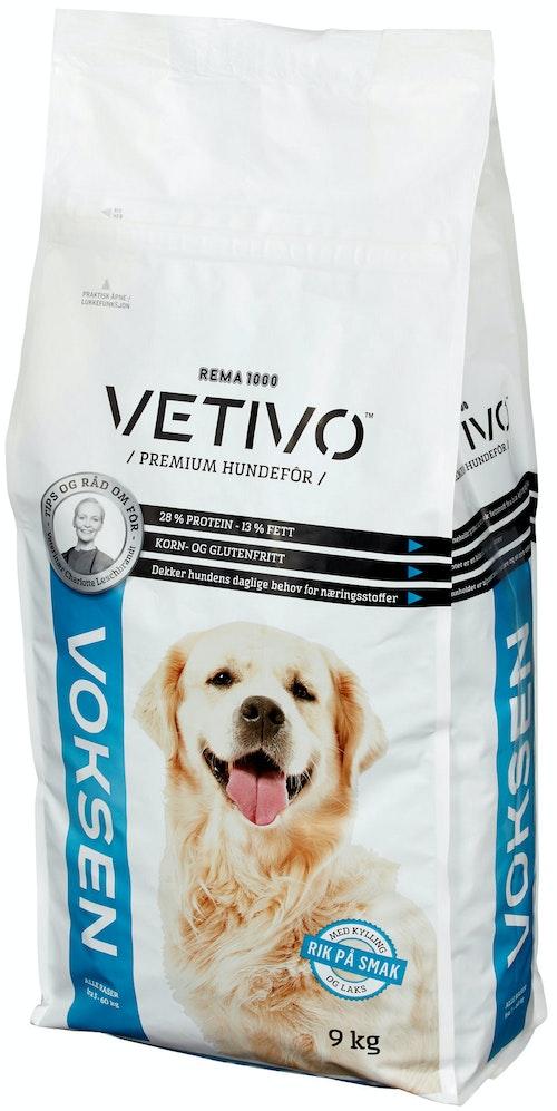Vetivo Hundefôr Voksen 9 kg
