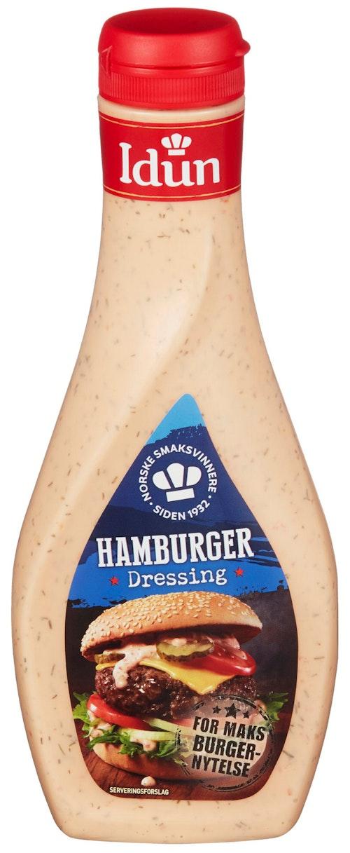 Idun Hamburgerdressing 450 g