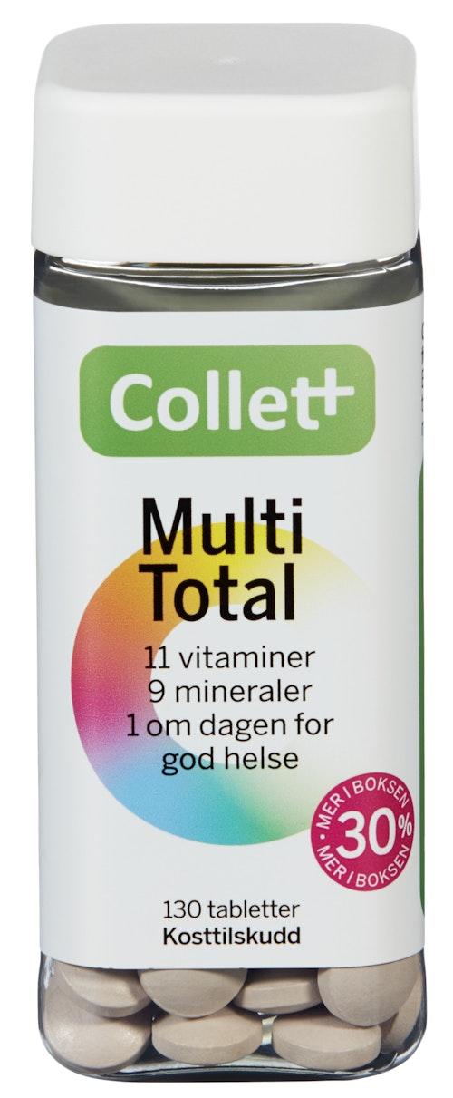 Collett Kostpluss Multitotal 130 stk